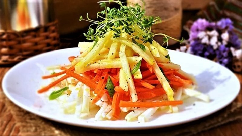 салат для меню в Пост