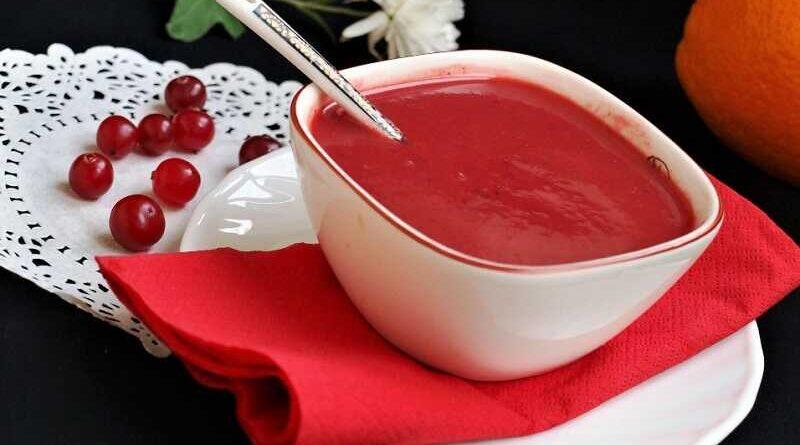 ягодный соус к выпечке