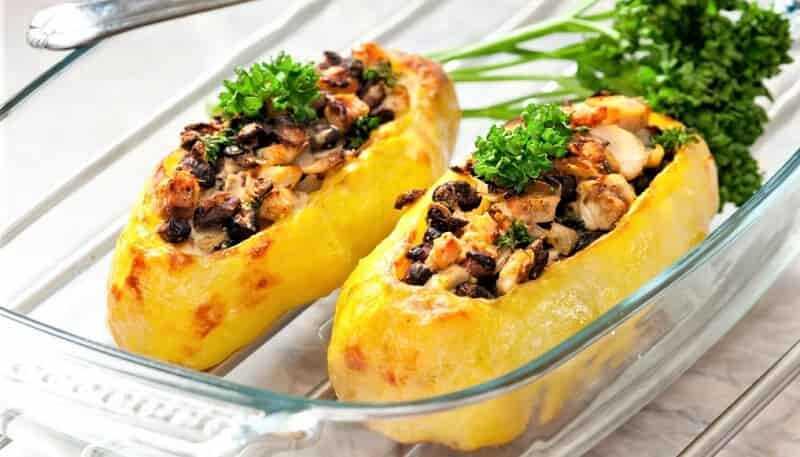 фаршированный картофель