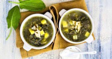 щавелевый суп с картофелем