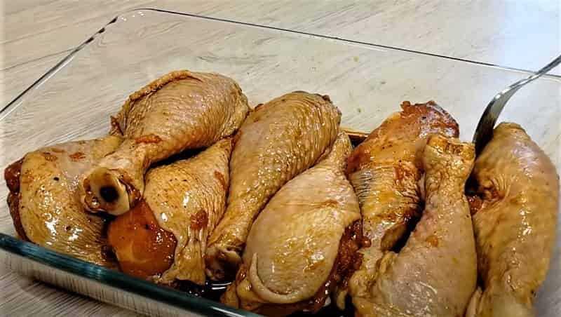 куриные ножки в соусе