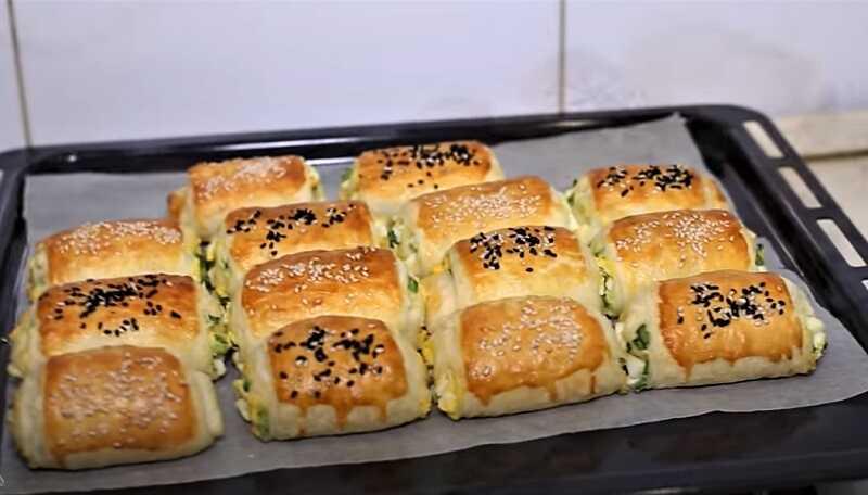 испеченные пирожки