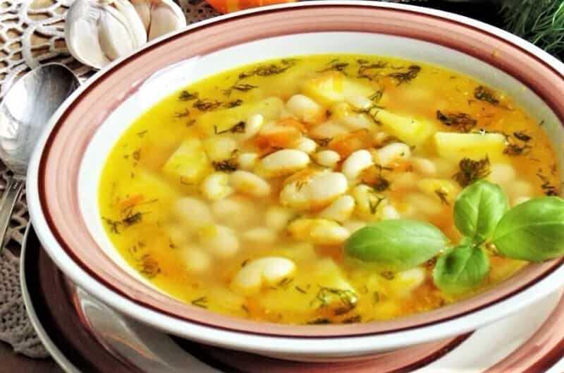 суп с фаслоью