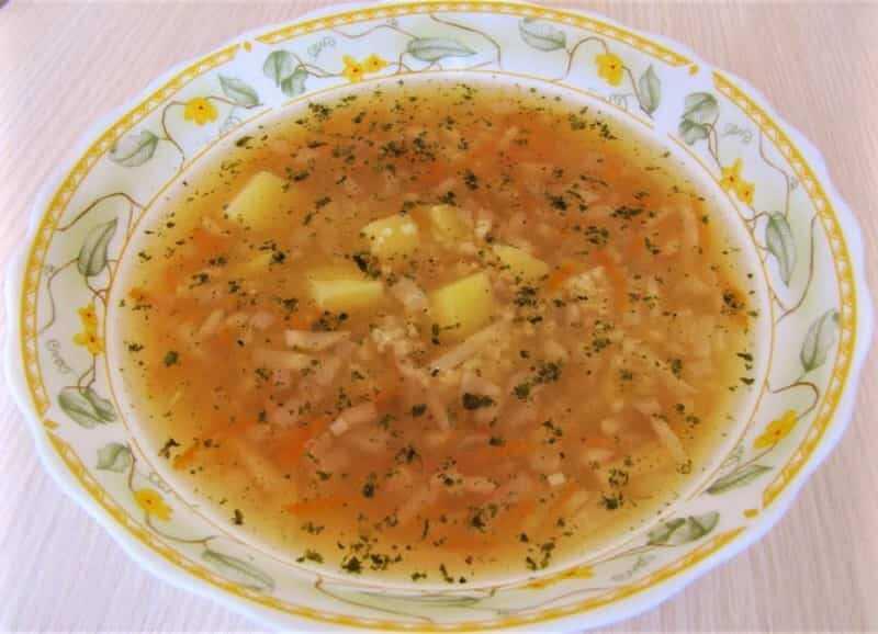 суп по-кубански