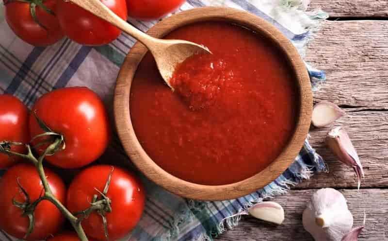 томатный сок с чесноком