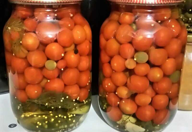 томаты с горчицей