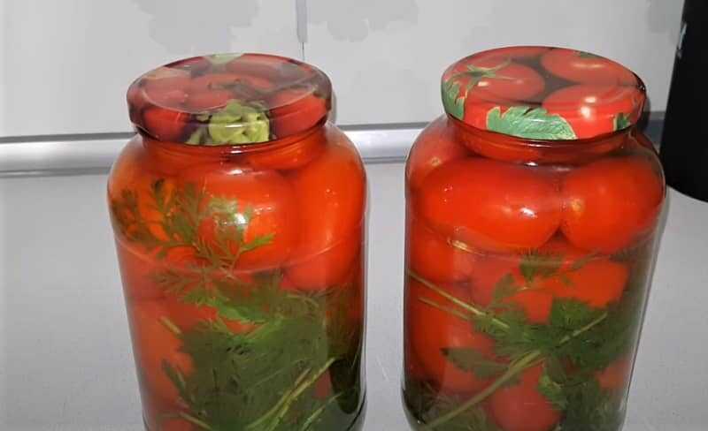 помидоры маринованные в банках