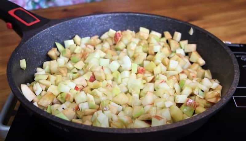 начинка из яблок