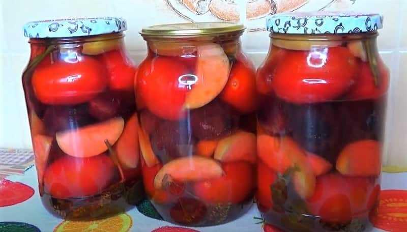 овощи и фрукты в банках