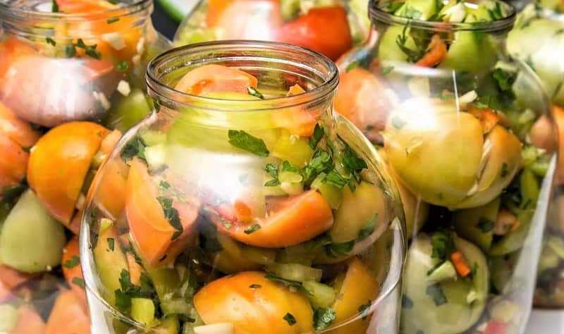 резаные томаты