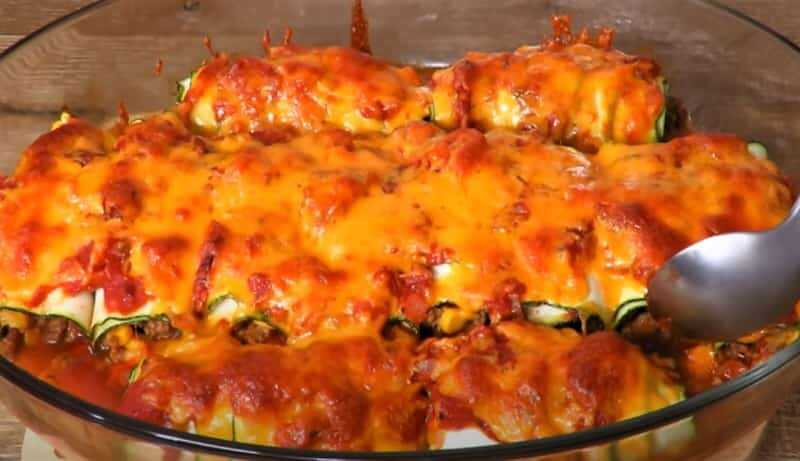 запеченные блюда из кабачков