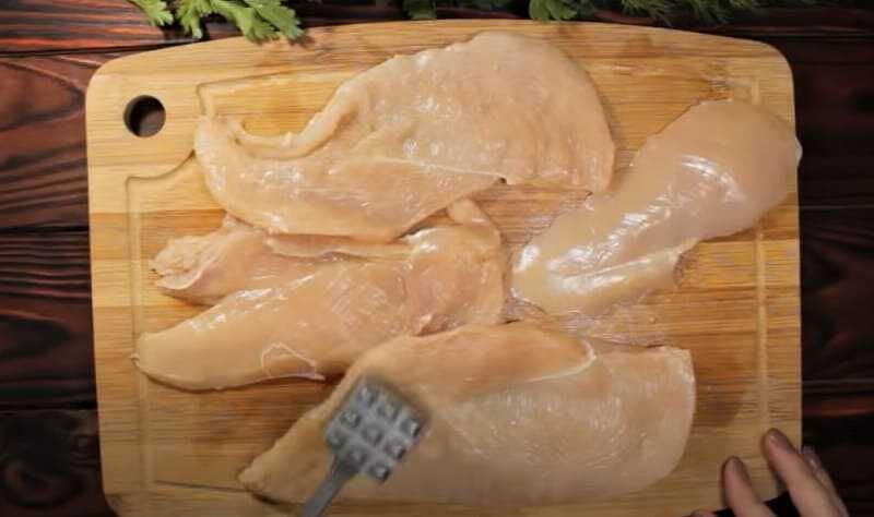 пласты куриного филе