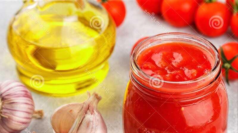 растительное масло для заливки соуса