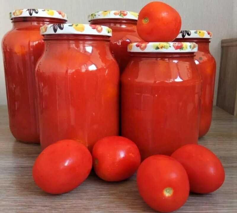 томатный соус в банках