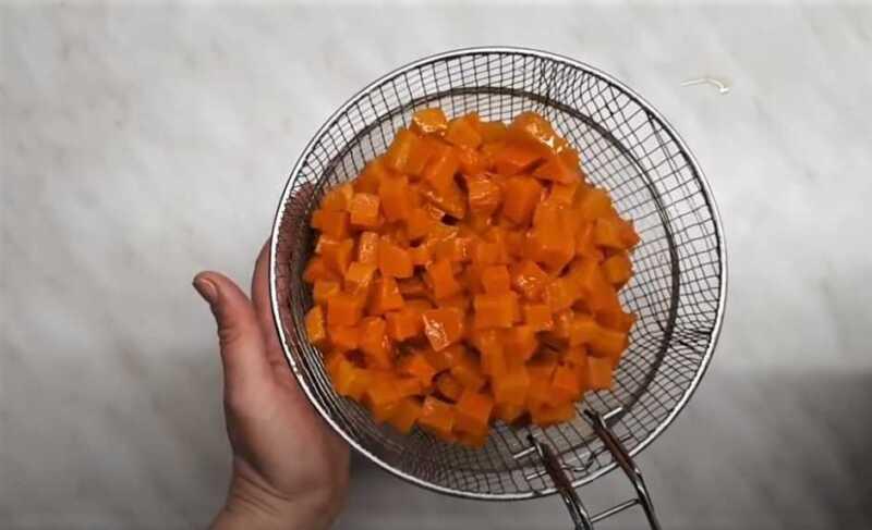 кусочки тыквы без сиропа