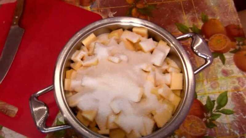 сахар на цукатах из тыквы