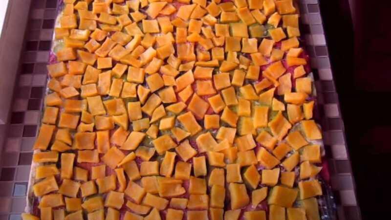 цукаты из тыквы на противне