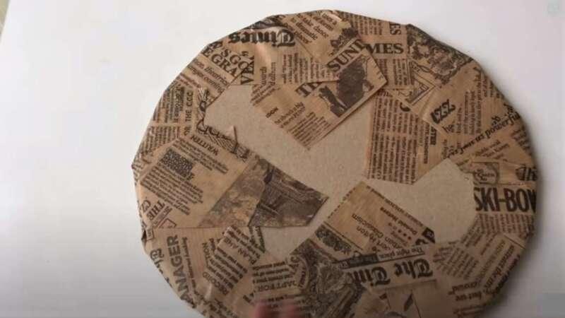 газета на круге