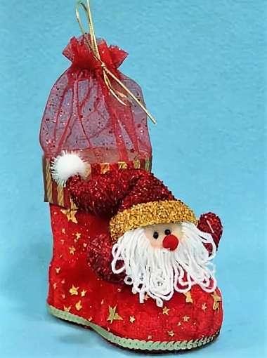 сапожок с Дедом Морозом