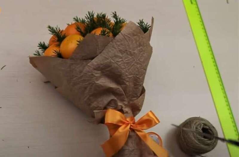 букет мандариновый
