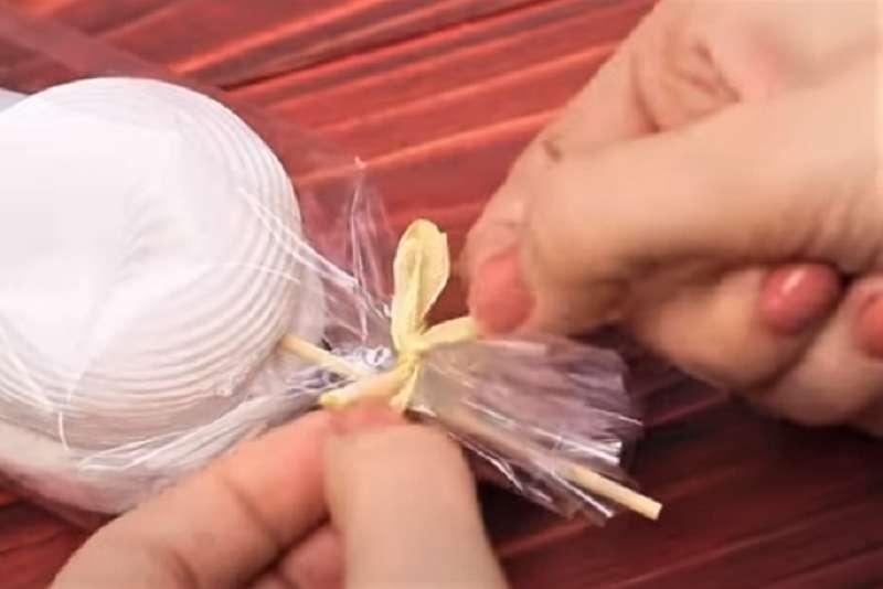 бантик чтобы завязать съедобные подарки
