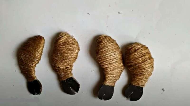 ножки из джута