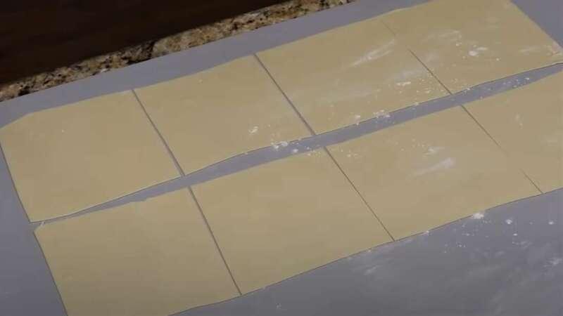 тонкое тесто на манты