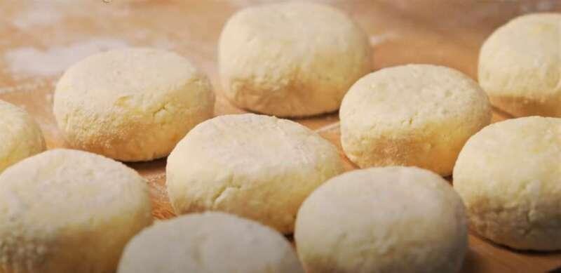 готовые заготовки сырников