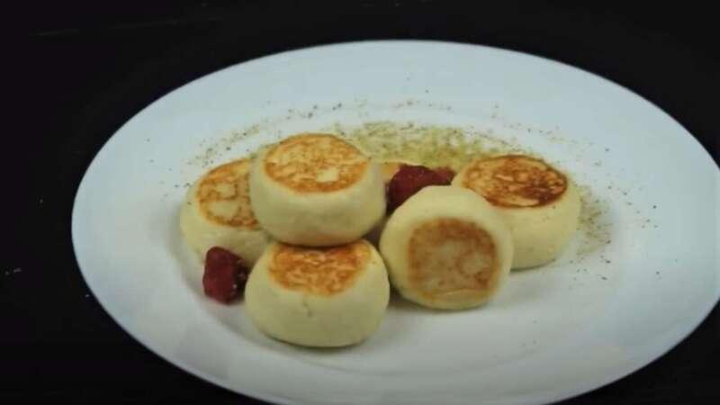 сырники из творога на сковороде без муки
