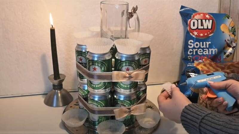 банки с чашечками