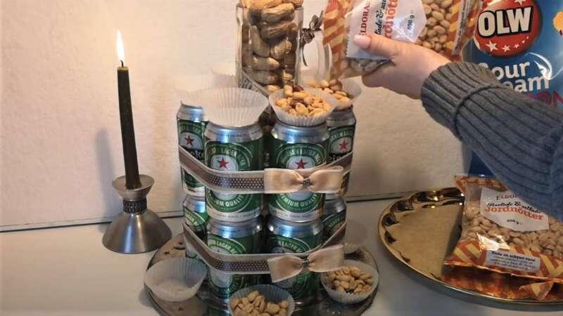 орешки в чашечках