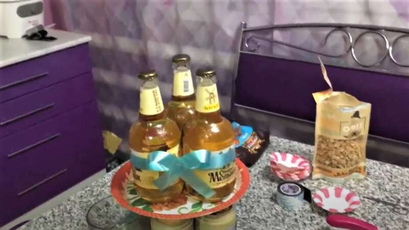бутылки с пивом