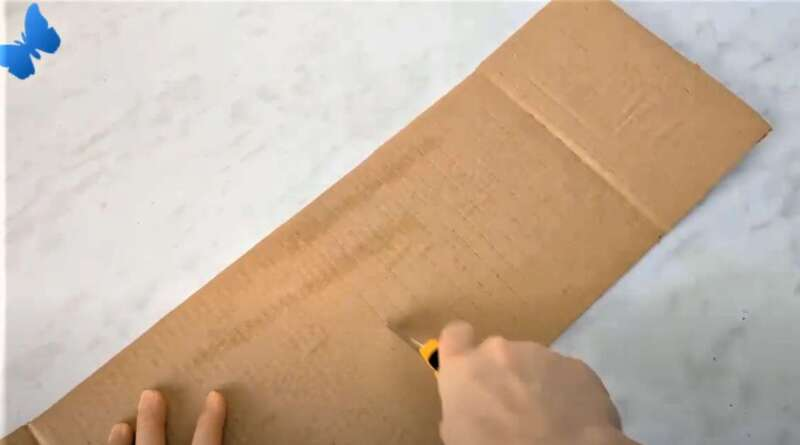 кусок картона