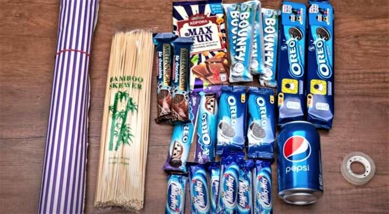 необходимые материалы и продукты