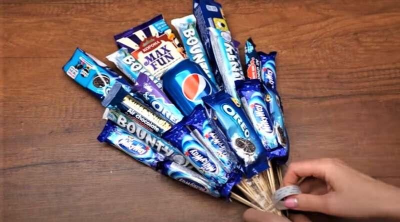 собранные шоколадки