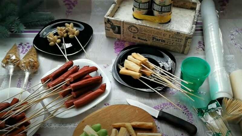 продукты для букета