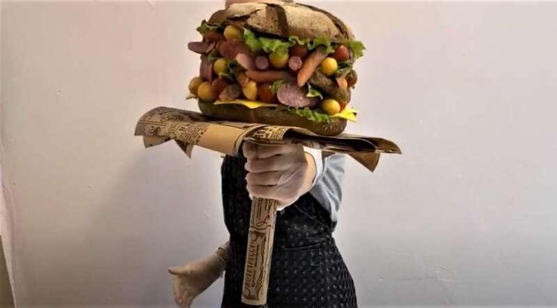 букет-бургер