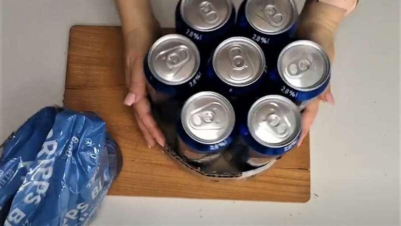 банки пива