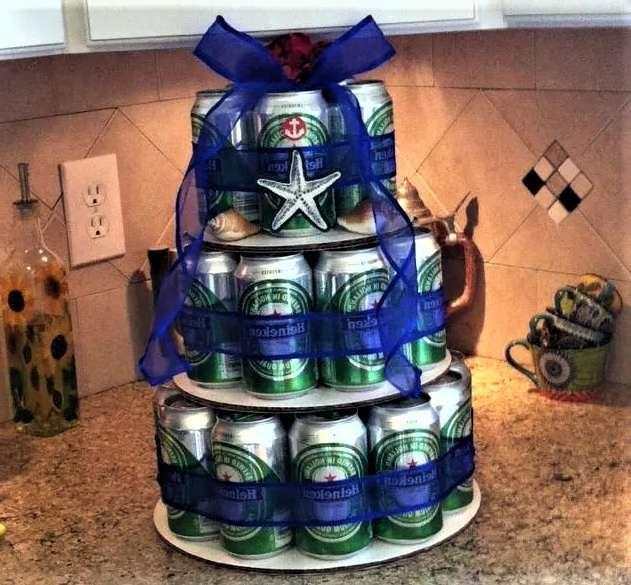 торт из пива в три этажа
