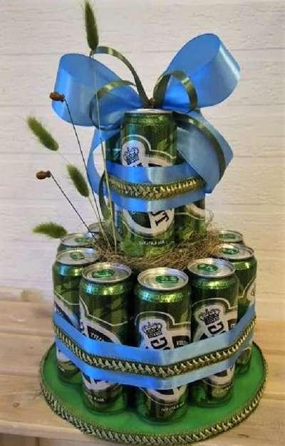 торт из пива