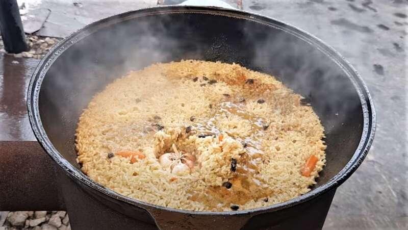 специи на рисе