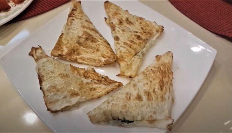 пирожки с щавелем из лаваша
