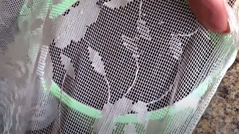 ткань из тюля