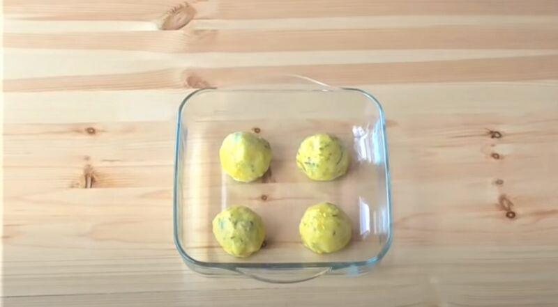 котлетки с яйцом