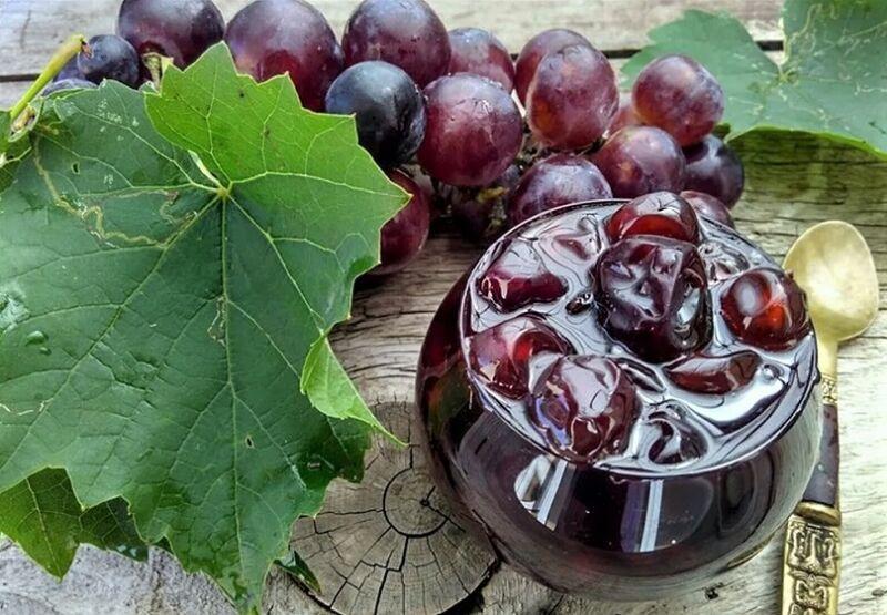 рецепт винограда на зиму