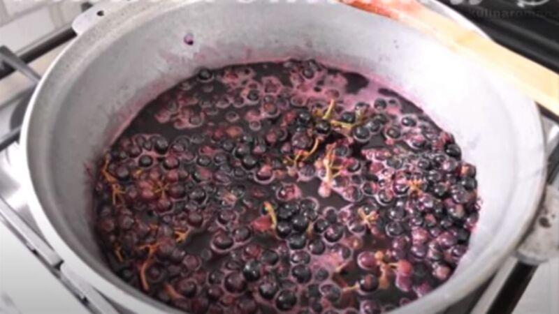 горячий виноград